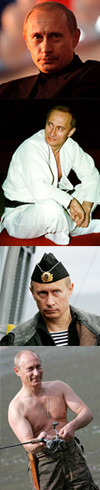 Many Faces of V. Putin